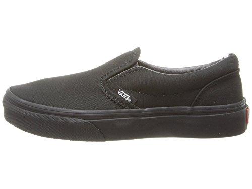 Vans Kids Classic Slip-On Black/Black - Boys On Slip