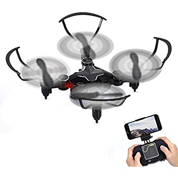 GBlife 2.4GHz 6-Axis Gyro 4CH Mini RC Quadcopter Wifi Mobile RC Helicopter RC Drone (Black)