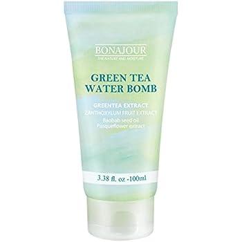 [BONAJOUR]Green Tea Natural Moisturizing Cream for dry and sensitive skin, Best Face Moisturizer 3.38 Fl. oz
