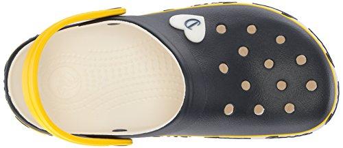 Crocs Dames Tricot Barrymore Crocband Clog Marine / Wit