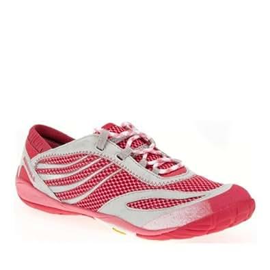 Women's Merrell Barefoot Run Pace Glove (9 M in Bubble Gum)