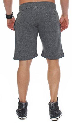 Finchman Uomini Pantalone Corti in Felpa di Cotone