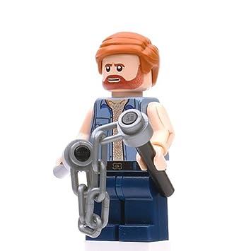 Chuck Norris Weihnachten.Chuck Norris Personzalizada Lego Minifigur Kompatibel Mit
