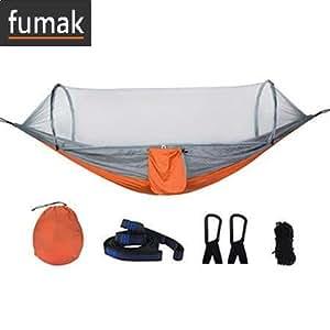 Amazon.com: Fumak Swing Silla – Hamaca de abertura rápida de ...