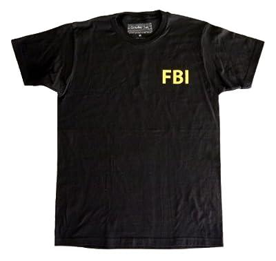 Qraphic Tee Men's FBI T-Shirt