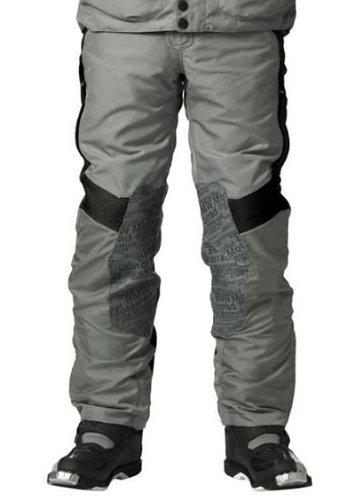Bmw Motorcycle Pants - BMW Genuine Motorcycle Motorrad Rallye pants, men's - Color: Grey / Red - Size: EU 48 US 38