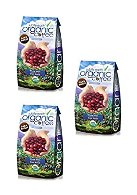 5LB Cafe Don Pablo Subtle Earth Organic Gourmet Coffee - Dark Roast - Whole Bean Coffee - USDA Certified Organic Arabica Coffee - (5 lb) Bag