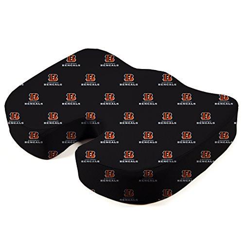- Pegasus Sports NFL Cincinnati Bengals Cincinnati Bengals Memory Foam Seat Cushion, Black