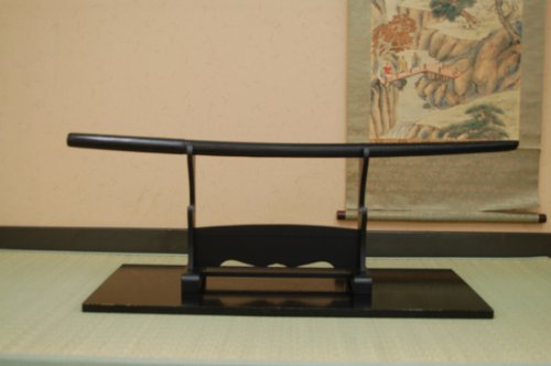 Bokken: Japanese Wooden Sword- Model #2 (Black) !!