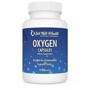 Amazon com: Let's Talk Health Oxygen Capsules (90 Capsules): Health