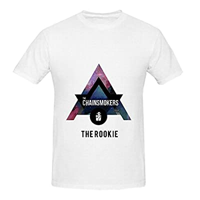 The Chainsmokers Rookie Men Crew Neck Big Tall T Shirt