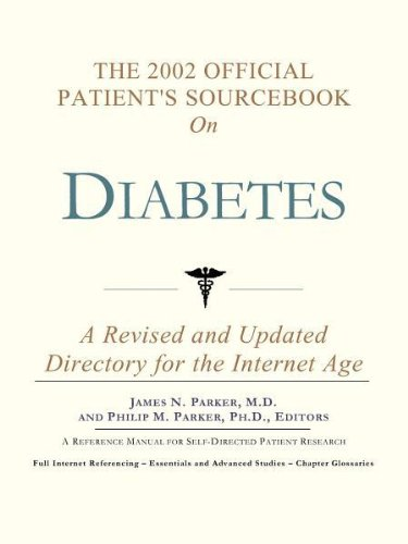 The 2002 Official Patient's Sourcebook on Diabetes: A Revised and Updated Directory for the Internet Age pdf epub