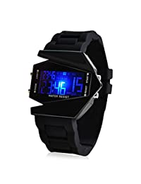 LightInTheBox Men's Watch Sports LED Stealth Aircraft Silicone Strap¡¡Designer Watch