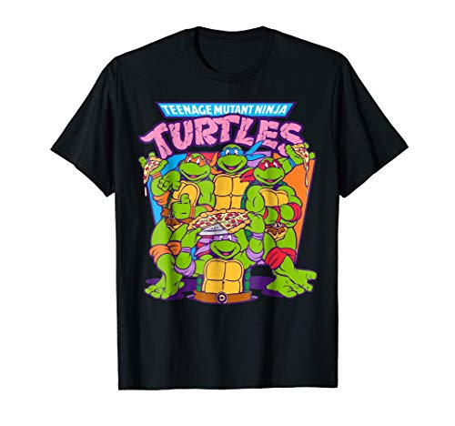 Teenage Mutant Ninja Turtles Pizza & Smiles T-Shirt]()