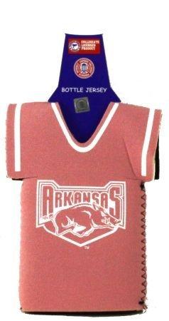 Arkansas RazorbacksピンクボトルJersey Koozie Cooler B002NM1SMW