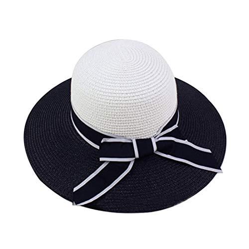 ネクタイパール公式Lclock(エルシーロック) 帽子 レディース 日焼け防止 UVカット 紫外線対策 折りたたみ可能 サイズ調節可 麦わら帽子 吸汗速乾 抗菌防臭 通気性 軽量 携帯便利 麦わらハット 花見せ 旅行 海辺 アウトドア 自転車 春夏 日常用 可愛い ペーパーハット