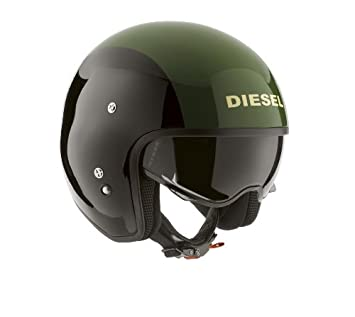 AGV Helmets HI-Casco Jet Jack Diesel E2205 de Graffiti, Multicolore (Noir/