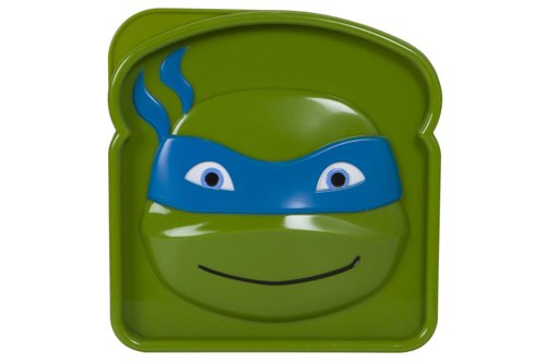 Nickelodeon Teenage Mutant Ninja Turtles Sandwich Sav'r, Blue (Ninja Turtle Blue)
