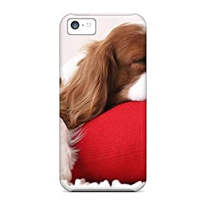 Iphone High Quality Tpu Case/ Lindo Caozinho Dormindo Case Cover For Iphone 5c