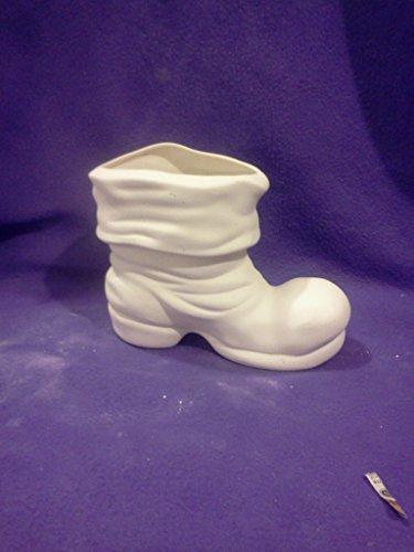 Santa Boot Vase 6