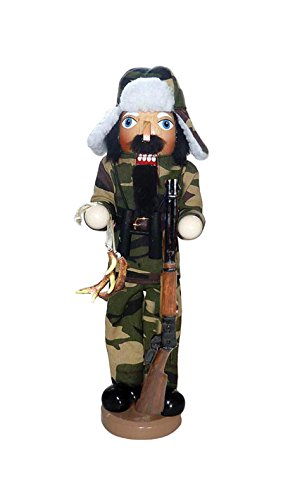 Santa's Workshop 70646 Camo Hunter Nutcracker, 14