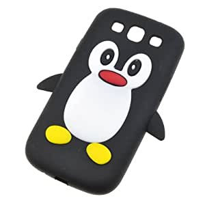 BestDealUSA Cute 3D Penguin Silicone Case Cover Skin for Samsung Galaxy S3 i9300 i747 T999