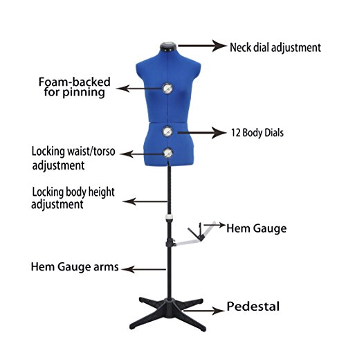 male adjustable dress form - 2