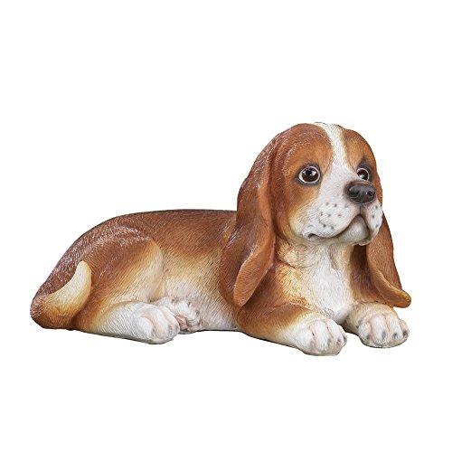 Toby Beagle Cute Dog Outdoor Garden Statue (Garden Beagle)