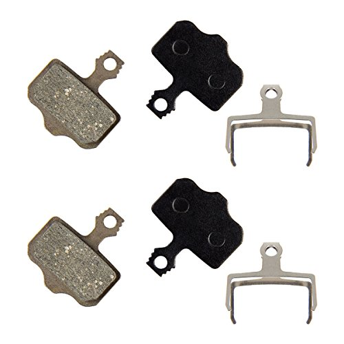 PAMASE Bike Disc Brake Pads for Avid Elixir/ SRAM XX, XO, XXWC/ Shimano Deore / Shimano SLX XT XTR GH Resin (Semi Metallic) Durable & Long lasting