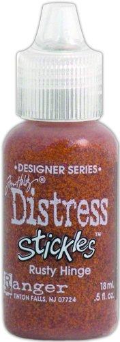 - Ranger TDS-28949 Tim Holtz Designer Series Distress Stickles Glitter Glue, Rusty Hinge, 0.5-Ounce