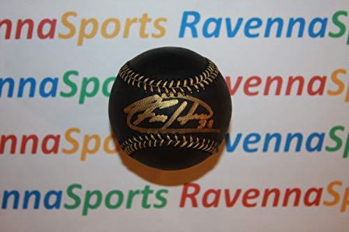 - Felix Hernandez Autographed Signed Rawlings Official Black Major League Baseball Psa