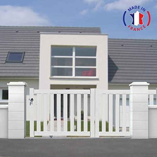 PACKIT puertas correderas aluminio en Kit vainica blanco, L3000 X H1200: Amazon.es: Jardín