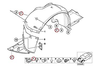 amazon 7 x bmw genuine air conditioning system hex head screw 1998 BMW 528I amazon 7 x bmw genuine air conditioning system hex head screw st4 8x19 c z2 528i 733i 735i 633csi 635csi 524td 528e 533i 535i m5 318i 318is 325e 325i