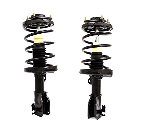 DTA 50023 Front Complete Strut Assemblies With Springs and Mounts Ready to Install OE Replacement 2-pc Pair Fits 2000-2003 Mazda Protege 2002-2003 Protege 5