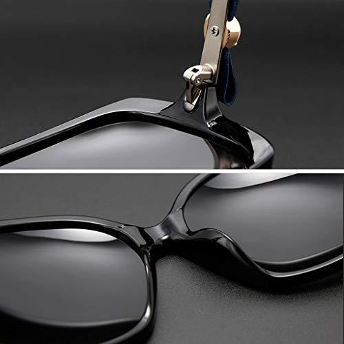 polarisées Couleur Retro Lunettes Bow soleil lunettes de Nouveau de Legs B E de Femme Des Soleil Frame Mirror Miroir Large Conduite Sport SH68wWq