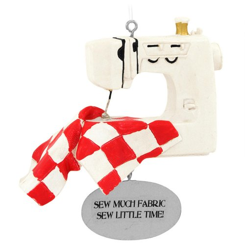 sewing machine christmas ornament - 2