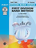 First Division Band Method, Part 2: B-Flat Clarinet