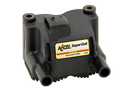 ACCEL 140410 Black Twin Cam Super - Super Coil Fire Single
