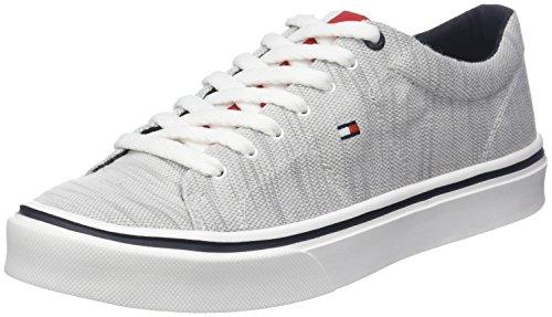 Knit Diamond Sneakers 001 Lightweight Bleu Tommy Nuit Grey Gris Basses Homme Hilfiger Sneaker ZEWpw