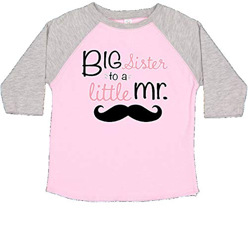 er to a Little mr. Toddler T-Shirt 2T Pink and Heather 276b4 ()