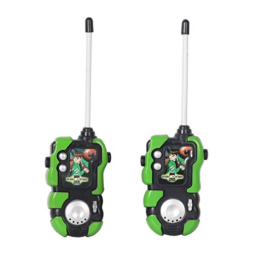 (Huang Cheng Toys Alien Force Kids Handheld Walkie-Talkie Pack of 2 Communication Toy)