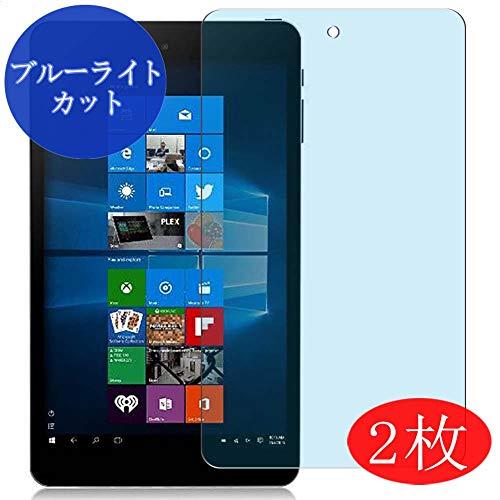 【2 Pack】 Synvy Anti Blue Light Screen Protector for iRULU Walknbook W3Mini 8 8