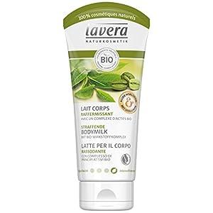 lavera Lait Corps RAFFERMISSANT Café vert bio, Thé vert bio, Raisin bio & Romarin bio • Vegan • Cosmétiques naturels…