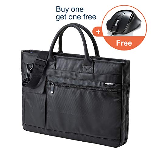 SANWA Expandable Resistance Messenger Briefcases product image