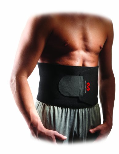 Lower Burner - McDavid Waist Trimmer Belt Neoprene Fat Burning Sauna Waist Trainer - Promotes Healthy Sweat, Weight Loss, Lower Back Posture (Includes 1 Belt)
