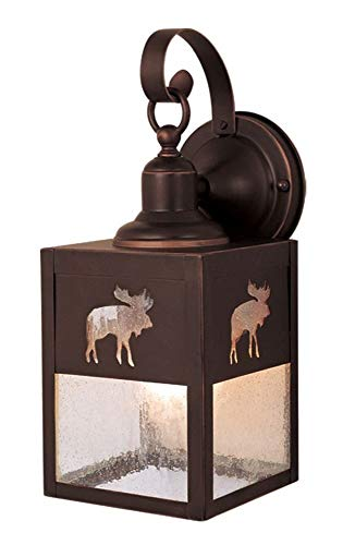 (Vaxcel One Light Outdoor Wall Light OW24963BBZ One Light Outdoor Wall Light)