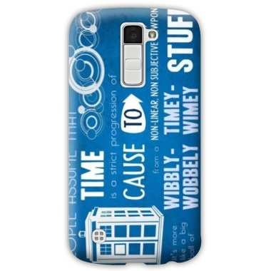 Amazon.com: Case Carcasa LG K10 Doctor Who - - bleu B ...