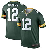 Mitchell & Ness Men's NFL Aaron Rodgers Green Bay Packers #12 Jersey-Green