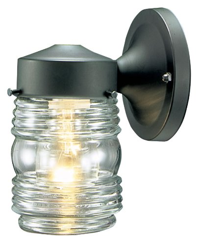 Hardware House 54 4379 Jelly Jar One Light Outdoor Wall