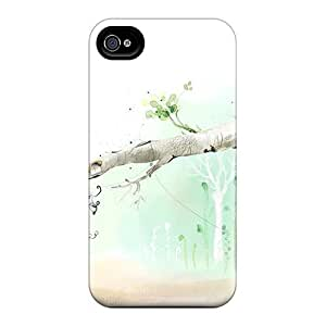 Art Forest Flip With Fashion For SamSung Galaxy S4 Case Cover